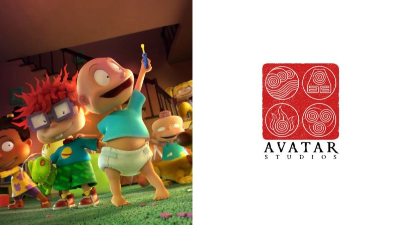 De nya Rugrats-teckningarna i CGI-datorgrafik