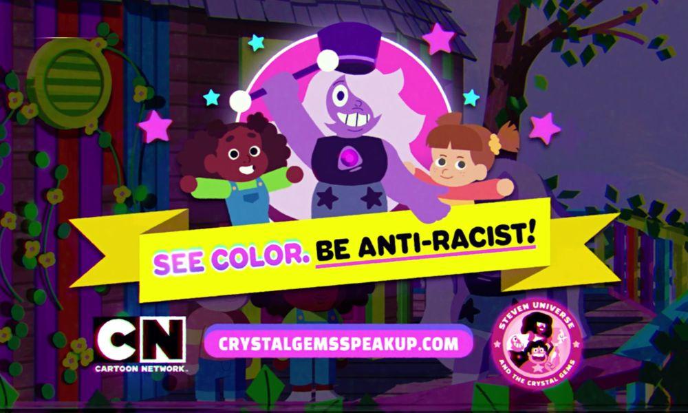 Il terzo cartone animato contro il razzismo delle Crystal Gems di Steven Universe