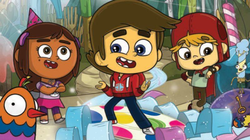 ネルバナとディスカバリーの誕生日パーティーに関するアニメシリーズのスーパーウィッシュ