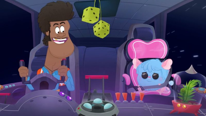 """The Adventures of Tumeke Space"" la serie animata dello studio Mukpuddy"