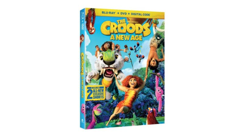 """The Croods 2"" en 4K Ultra HD, Blu-Ray y DVD el 23 de febrero"