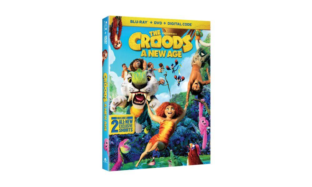 """""""I Croods 2"""" in uscita su 4K Ultra HD, Blu-Ray e DVD il 23 febbraio"""