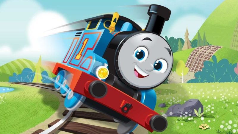 La nuova serie animata de Il trenino Thomas and Friends prodotta dalla Nelvana