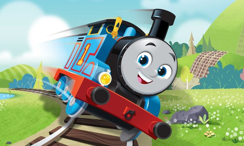 La nuova serie animata de Il trenino Thomas and Friends prodotta dalla Nelvana