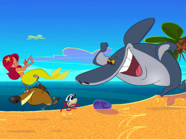 Zig & Sharko - la serie animada de Xilam