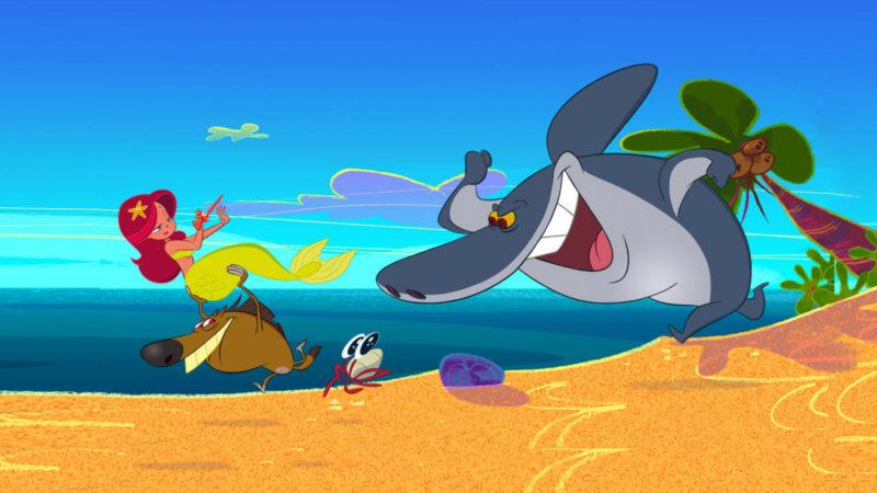 जिग और शार्को - Xilam की एनिमेटेड श्रृंखला