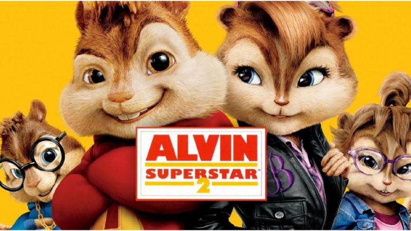 Alvin and the Chipmunks 2 - 2009 animerad och live-action film
