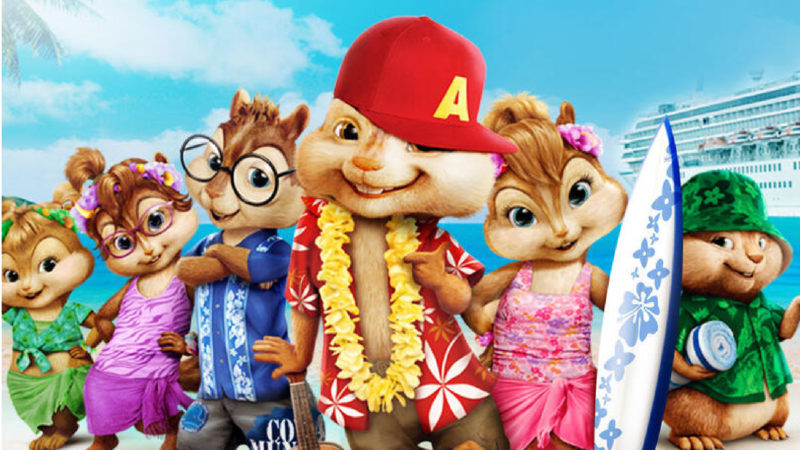 Alvin and the Chipmunks 3 - Si salvi chi chi - Animerad film 2011
