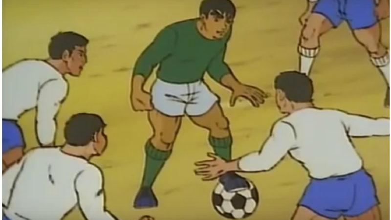 यहाँ आते हैं शानदार - 1970 के दशक की जापानी फ़ुटबॉल एनिमेटेड सीरीज़