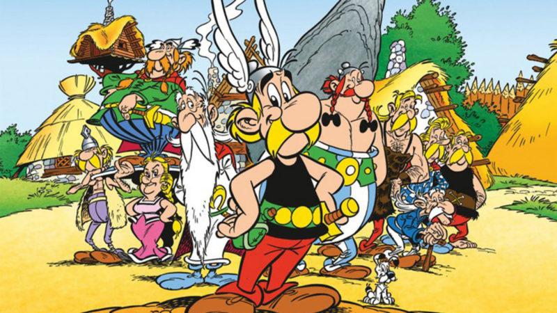 Asterix il personaggio dei fumetti e dei cartoni animati
