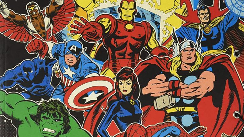 Avengers – I vendicatori – La storia dei personaggi dei fumetti Marvel