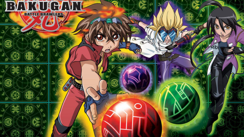 Bakugan-Battle Brawlers-2007日本动画系列