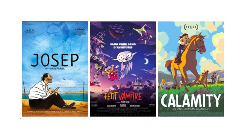 I César Awards nominano 3 film e 4 cortometraggi nelle categorie di animazione