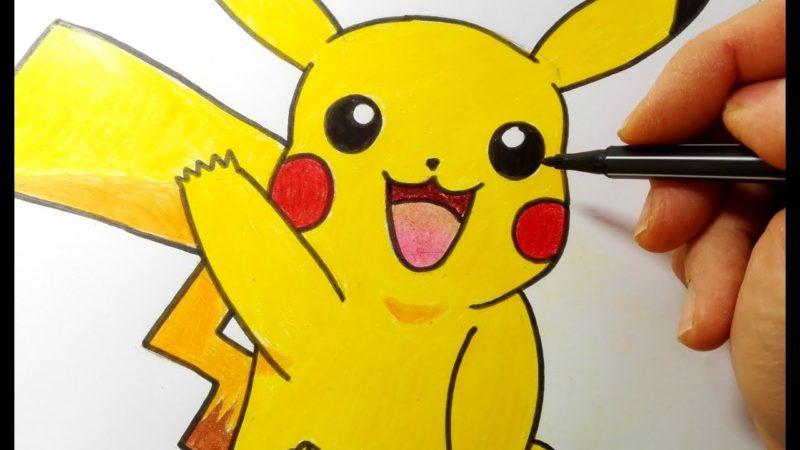Come disegnare Pikachu dei Pokemon