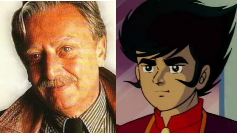 Falleció Claudio Sorrentino, el actor de voz italiano de Koji Kabuto de Mazinger Z