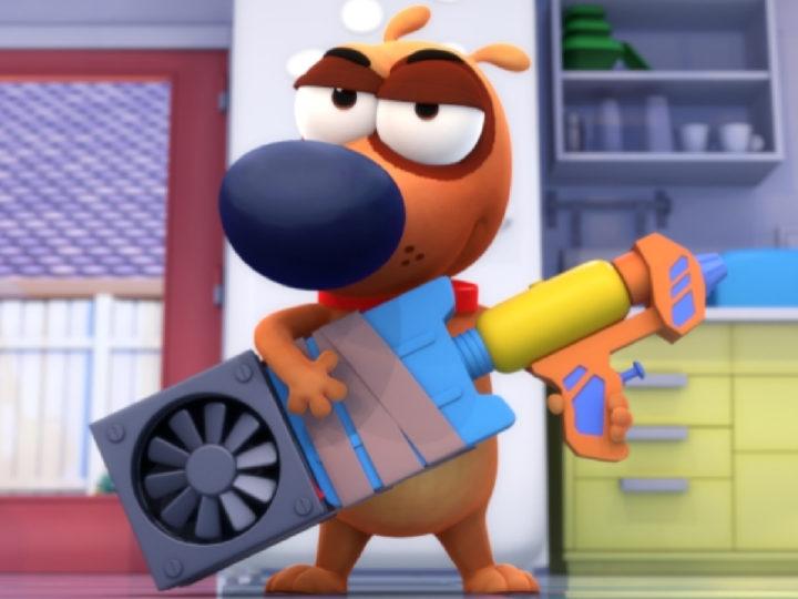 Paf the dog - la serie animada sobre Rai Gulp