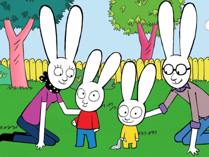 Simone el conejo - la serie animada para niños en Cartoonito
