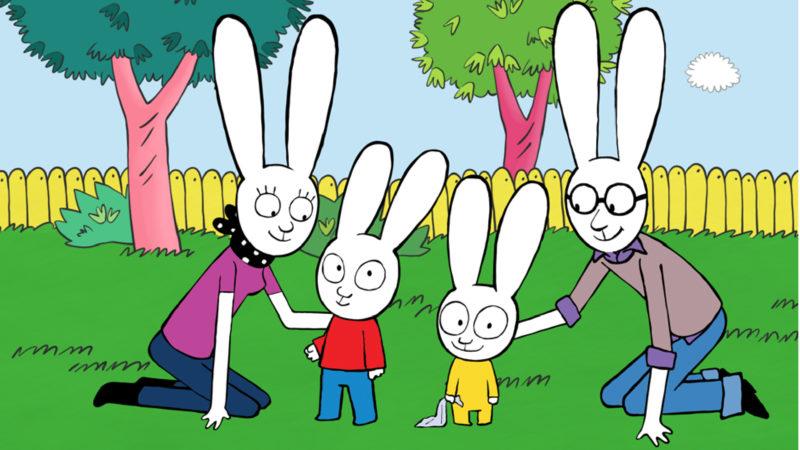 西蒙妮兔-Cartoonito上的儿童动画系列