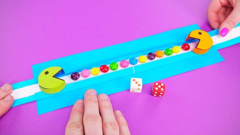 Come costruire un gioco di Pacman con la carta