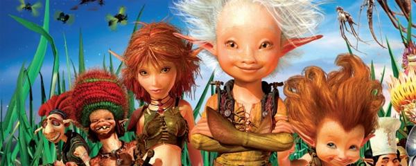 Arthur e il popolo dei Minimei – Il film di animazione e live-action (2006)