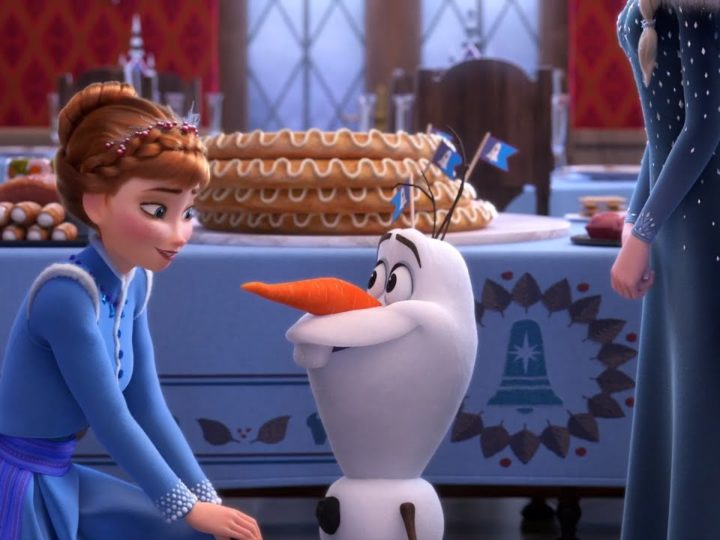 Frozen - As Aventuras de Olaf | Clipe do filme | Surpresa Olaf