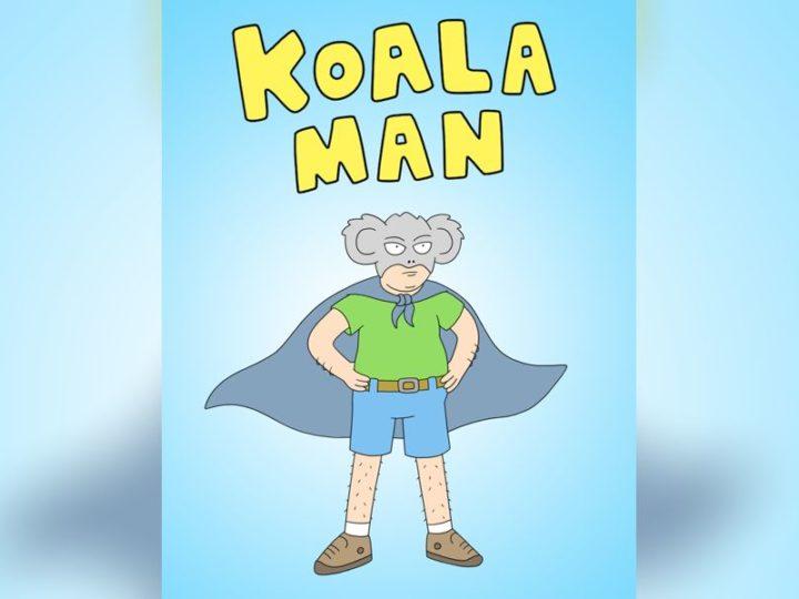 """""""考拉人""""迈克尔·库萨克(Michael Cusack)在葫芦上的动画系列"""