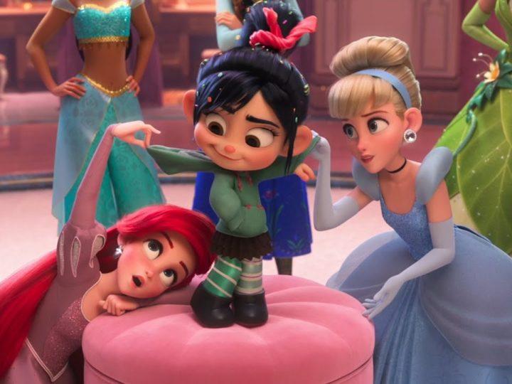 ラルフがインターネットを壊す| 映画からのクリップ| ヴァネロペとお姫様たちが夢を共有する