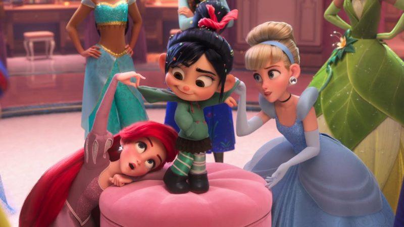 Ralph Spacca Internet | Clip dal Film | Vanellope e le principesse condividono i loro sogni