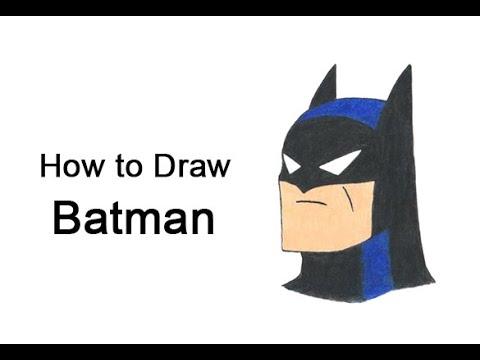 Come disegnare Batman della serie animata