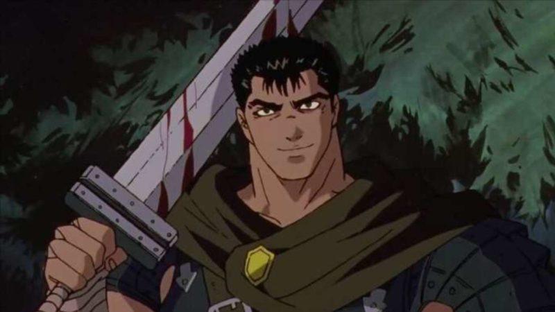 Berserk - Historia komiksów manga i seriali anime