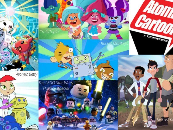 Poder atômico! Nós conversamos com o popular Canadian Animation Studio