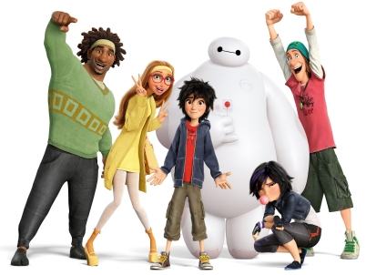 Big Hero 6 - 2014-animerade filmen