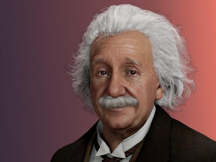 Goodby Kansas pomaga wskrzesić Alberta Einsteina jako cyfrowego człowieka