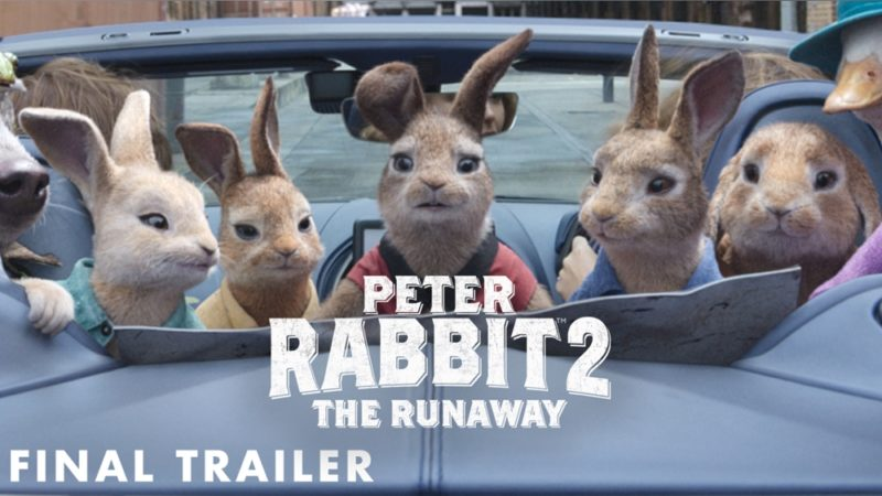 """Il trailer finale di """"Peter Rabbit 2"""" diventa lepre con pianure, treni e automobili"""