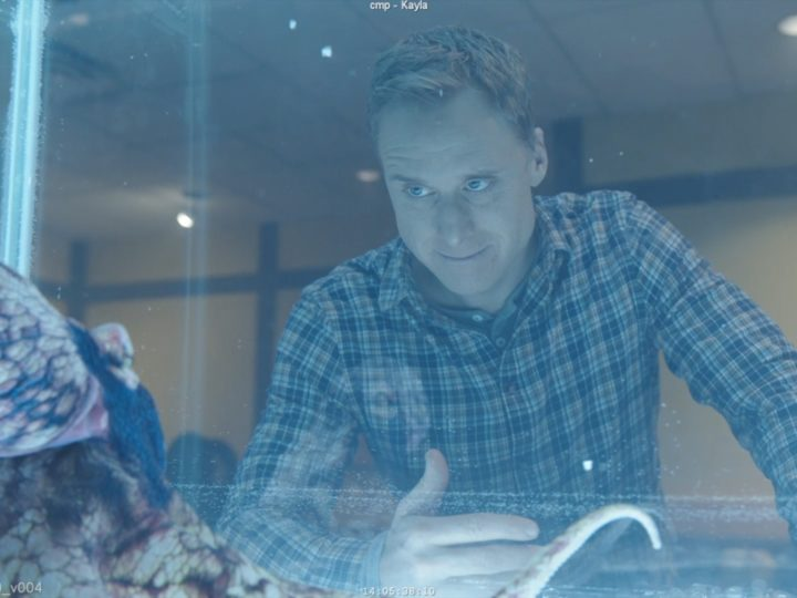 """Artifex在SYFY的""""常驻外星人""""中获得了VFX触手"""