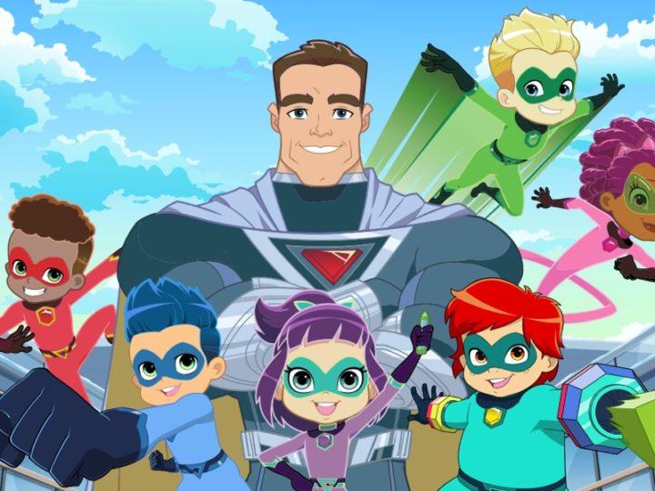 シュワルツェネッガーは23月XNUMX日に「スタンリーのスーパーヒーロー幼稚園」で学校に戻る