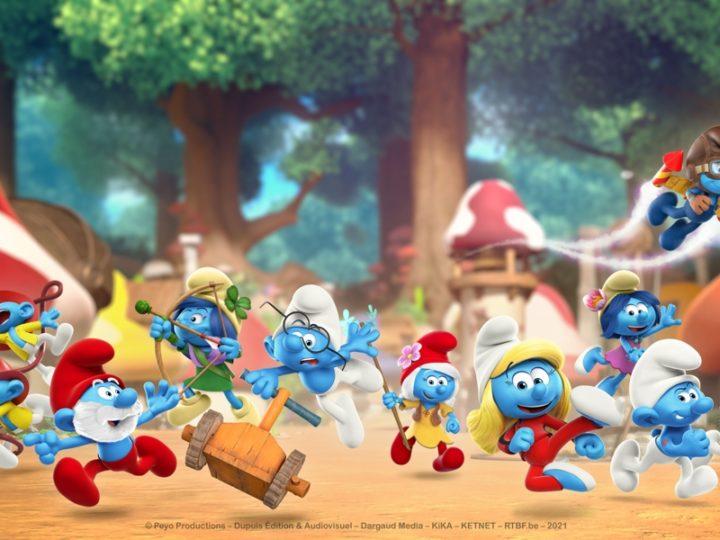 """La nuova serie CG """"Puffi"""" inizia un'avventura globale"""