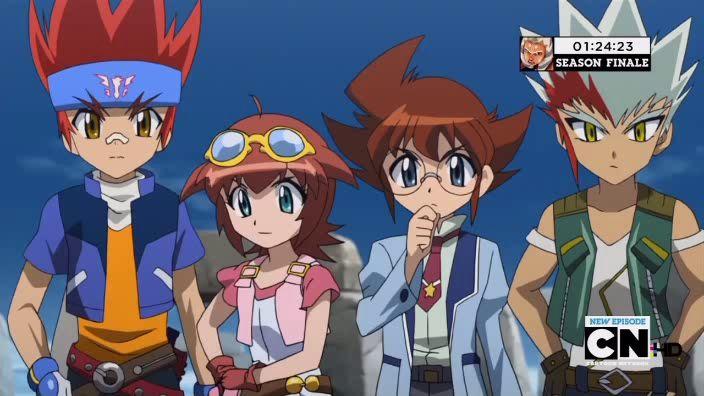 ベイブレードメタルフュージョン-2009年のアニメシリーズ
