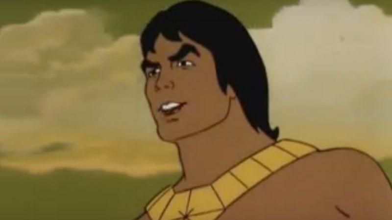 Blackstar il cartone animato del 1981