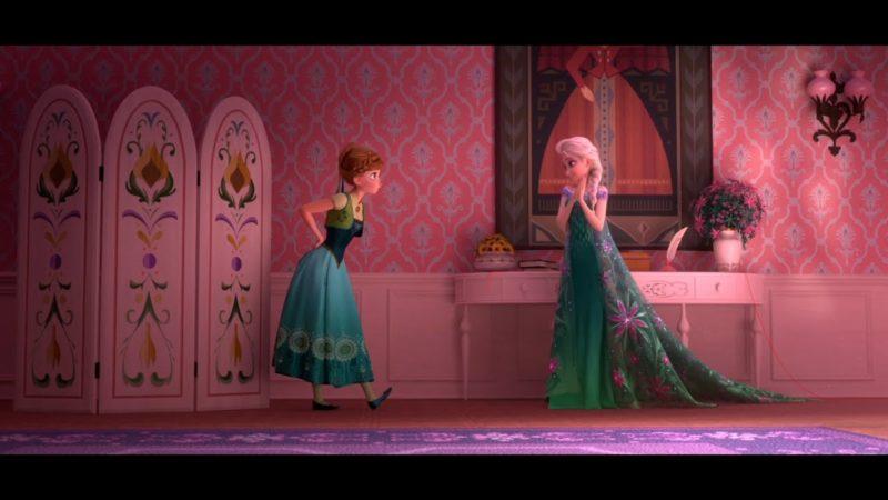 Frozen Fever | Clipe do filme | Elsa e Anna se preparam para o dia