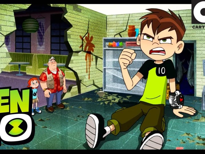 Plezier in Tokio Deel 1: The Mega Bug Shot | Ben 10 Engels | Cartoon Network
