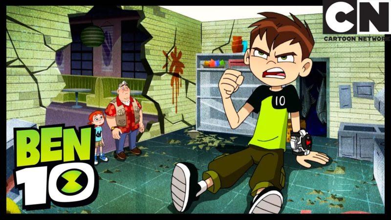 टोक्यो में मज़ा भाग 1: मेगा बग शॉट | बेन 10 अंग्रेजी | कार्टून नेटवर्क