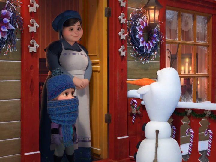 《冰雪奇缘》-奥拉夫历险记| 电影剪辑| 奥拉夫(Olaf)与斯文(Sven)一起寻找传统