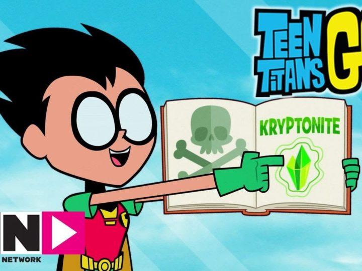 La debolezza dell'eroe | Teen Titans Go! | Cartoon Network