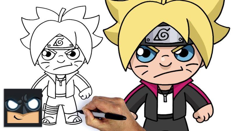 Come disegnare Boruto (il figlio di Naruto) – Tutorial passo passo