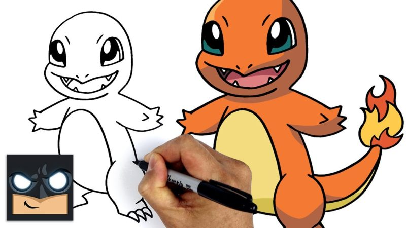 Come disegnare Pokemon | Charmander