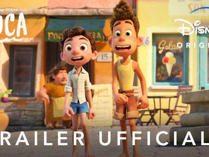 Disney+   Luca – Nuovo Trailer Ufficiale in Streaming dal 18 Giugno
