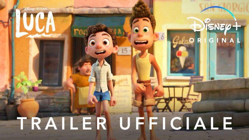 Disney+ | Luca – Nuovo Trailer Ufficiale in Streaming dal 18 Giugno