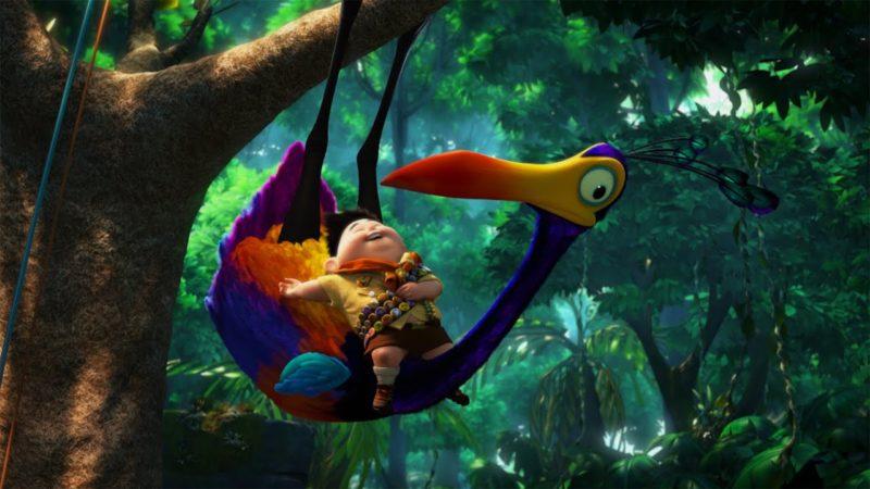 Clip video da UP della Disney Pixar – Il Beccaccino