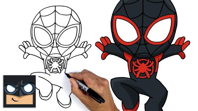 Come disegnare Miles Morales | Spider-Man